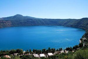 Lago di Albano - Vista da Castel Gandolfo