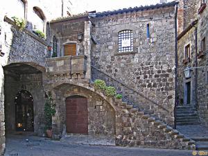 Il Quartiere San Pellegrino a Viterbo