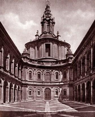 Palazzo della Sapienza e la Chiesa di S. Ivo