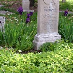 Cimitero protestante, sepolcro di personaggi famosi