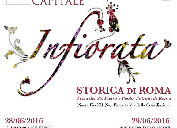 INFIORATA STORICA DI ROMA – VI EDIZIONE