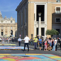 Video gallery VI edizione Infiorata storica di Roma