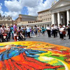 Rassegna stampa Infiorata Storica di Roma 2017