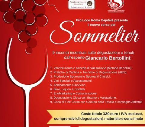 Impara a conoscere il vino: corso per Sommelier a Roma