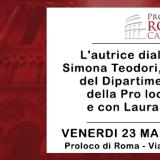 EVENTO: VENERDI 23 PRESENTAZIONE DE 'I SOTTERRANEI DI NOTRE DAME' DI BARBARA FRALE