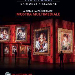 IMPRESSIONISTI FRANCESI: MOSTRA MULTIMEDIALE DA MONET A CEZANNE