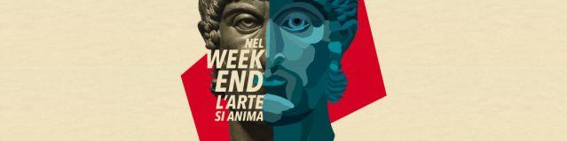 #ARTWEEKEND – IL SABATO E LA DOMENICA APPUNTAMENTO CON L'ARTE