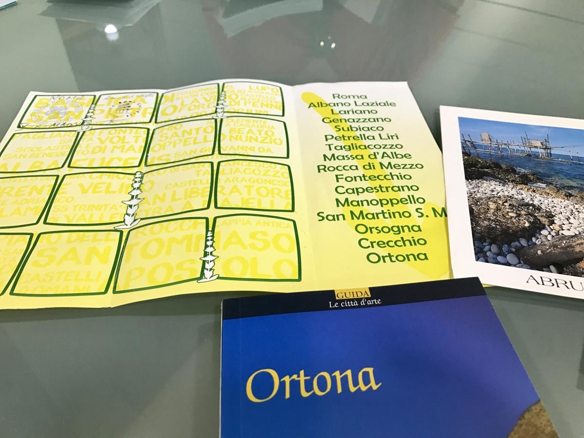 Il libretto del pellegrino in viaggio verso Ortona