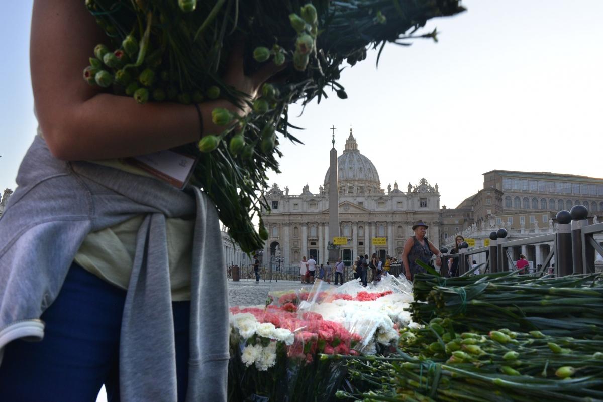 Infiorata Roma - 2016 fiori e boccioli