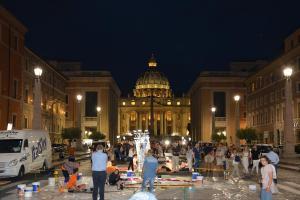 Work in progress - 28 giugno per l'infiorata di Roma