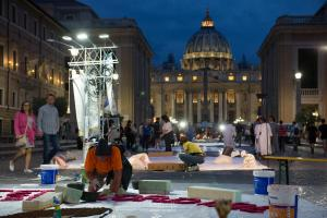 Notturna - Infiorata di Roma 2018