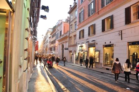 Via Frattina, Roma