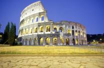 Foto Roma – Colosseo vista frontale