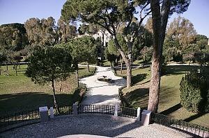 Interno di Villa Carpegna Roma