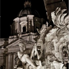 Foto Roma – Scorcio Fontana dei 4 Fiumi