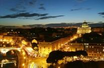 Foto Roma – Roma di Notte dall'alto