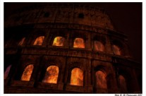 Foto Roma – Colosseo in notturna