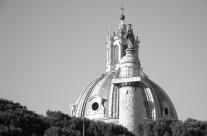 Foto Roma – Cupola bianco e nero