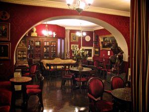 L'interno della Caffetteria