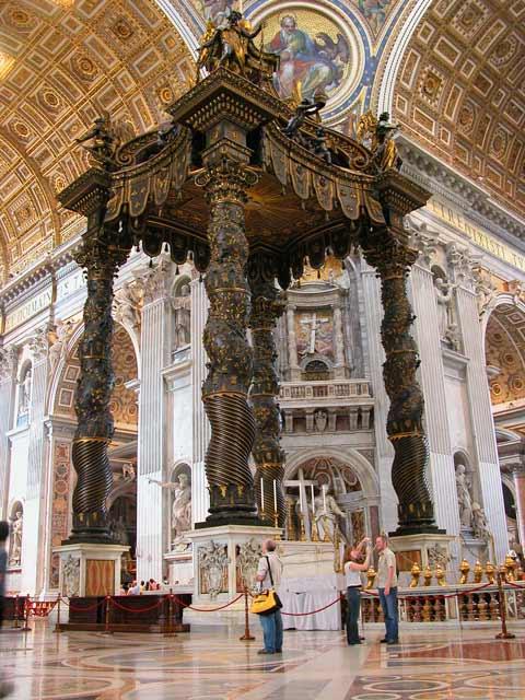 Interno della Basilica di San Pietro in Vaticano