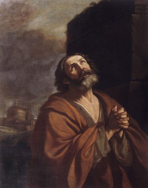 San Pietro piangente - 1639 - Roma, Museo Nazionale di Palazzo Venezia