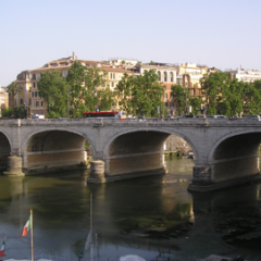 Ponte Cavour, un Ponte nel Porto di Ripetta
