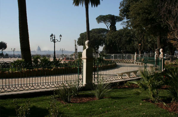 Pincio, Piazzale Napoleone I