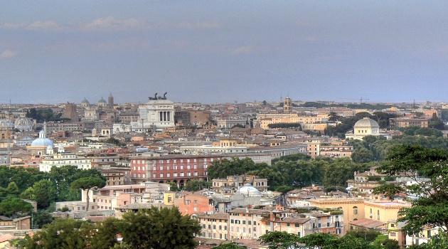 Panorama di Roma dal Gianicolo