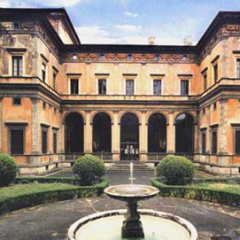 Villa Farnesina nel Rione Trastevere