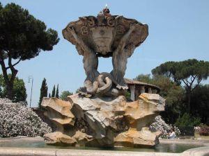 Fontana dei Tritoni, Roma
