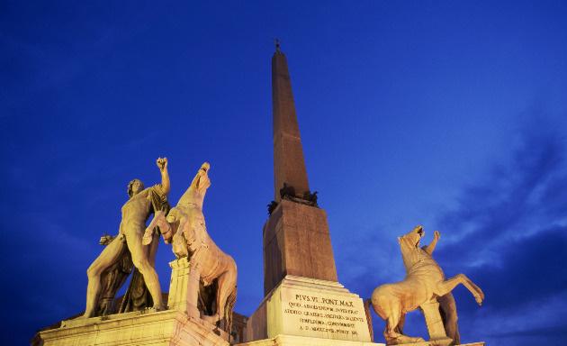 Fontana di Montecavallo - dei Dioscuri, Roma