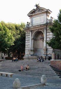 Fontana di Piazza Trilussa, Roma