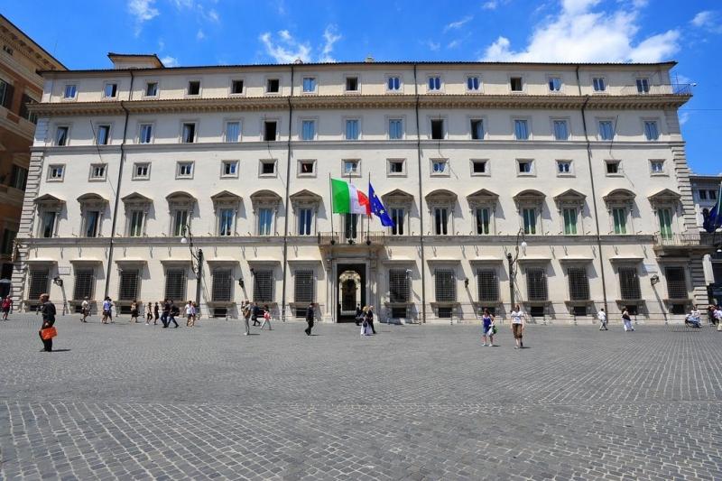 Palazzo Chigi, Sede del Governo - Roma