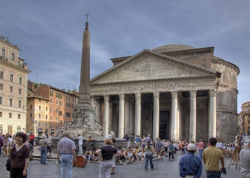 Pantheon - Piazza della Rotonda - Roma