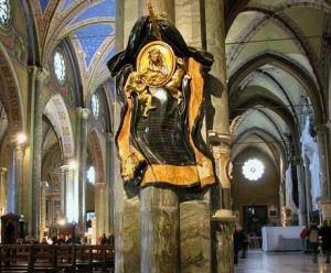 anta Maria sopra Minerva - Monumento eretto per Suor Maria Raggi