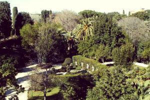 Villa Sciarra Roma Giardini