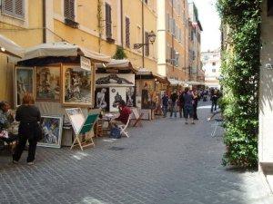 "Via Margutta - Mostra dei ""100 Pittori"""