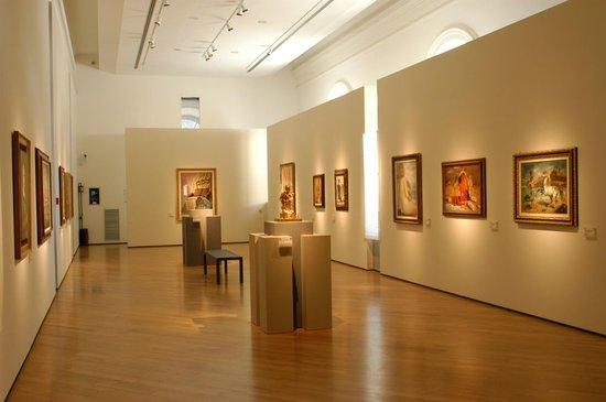 sale interne del Museo Carlo Bilotti