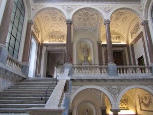 Interno di Palazzo Braschi