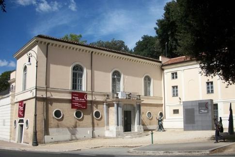 Entrata Museo Carlo Bilotti