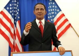Riproduzione di Barack Obama al Museo delle Cere