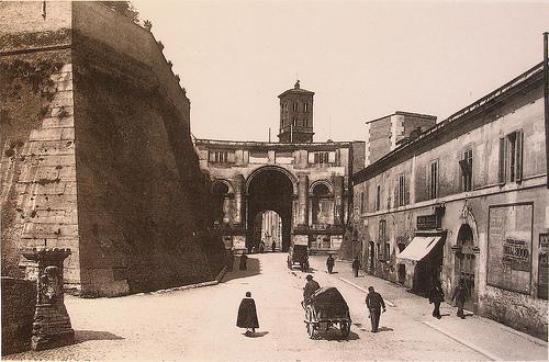 Porta Santo Spirito, Roma