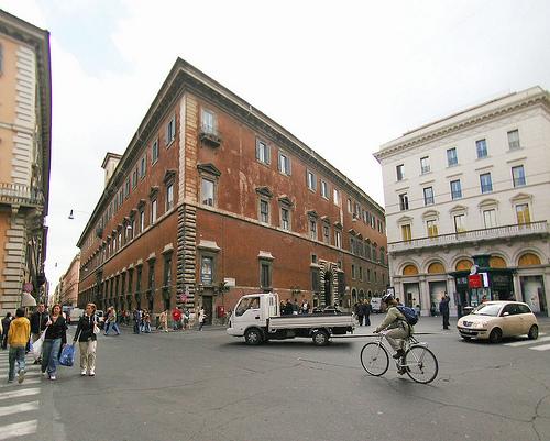 Palazzo  Ruspoli in Via del Corso a Roma