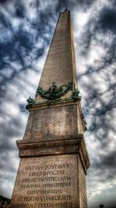 Obelisco Vaticano in Piazza San Pietro