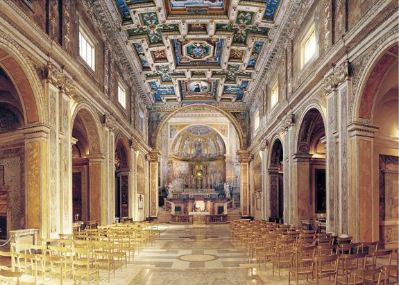 Interno di Santa Francesca Romana
