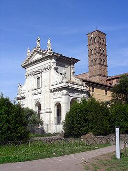 La Chiesa di Santa Francesca Romana