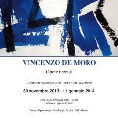 Vincenzo De Moro – Opere Recenti