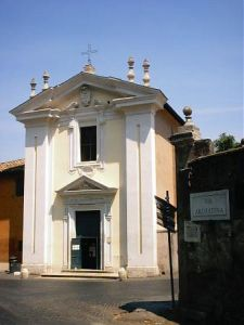 Chiesa del Domine Quo Vadis - Via Appia Antica, Roma