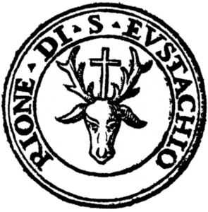Il Logo del Rione di Sant' Eustachio