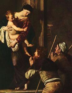 Le due anime delle Controriforma a Roma:Madonna dei Pellegrini di Caravaggio